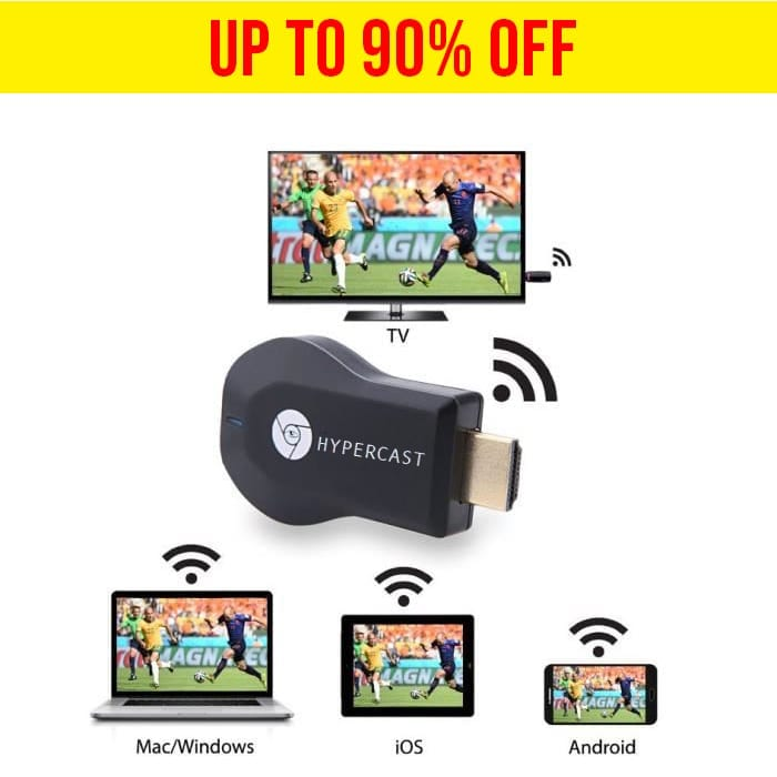 Hypercast – WIFI HDMI dongle broadcast anywhere
